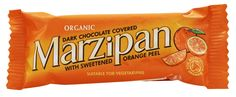 Dark Chocolate Covered Marzipan with Sweetened Orange Peel by Halo Foods is a high quality vegan marzipan bar without artificial ingredients. The vegan candy is wheat-free, gluten-free and soy-free! Organic Dark Chocolate, Vegan Candies, Snack Recipes, Snacks, Snack Bar, Orange Peel, Marzipan, Natural Cosmetics, Christmas Treats
