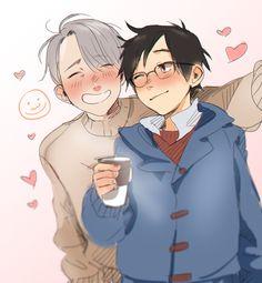 Rinharu for the Winharu | spitsplash:   HI EVERYONE I LOVE YURI ON ICE