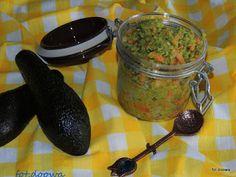 Moje Małe Czarowanie: Salsa z awokado i papai