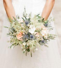 Beautiful bouquet for an outdoor wedding