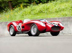 1957 Ferrari 250 Testa Rossa Scaglietti Spyder supercar retro race racing t wallpaper