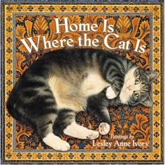 So true. This particular painting is classic Lesley Ann Ivory, so recognizable with a kitty cat on a Persian rug. Love it.