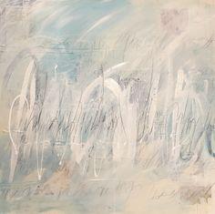 Toile de Sophie S. 100x100cm Acrylique
