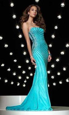 elegant gala night gown