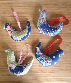 Fabric birdies