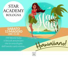 STAR ACADEMY - BOLOGNA Sabato 13 Maggio 2017 - Ore 21.00  Non mancate!