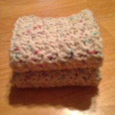 Crochet Dish/Wash Cloth Set of 2. Handmade by MaryDSerenityDesigns