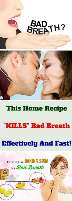 We still can not defeat bad breath due to consuming delicious snacks or garlic no matter how hard we try – we brush the teeth, we eat candies and peppermint. But relax, do not worry because we have the recipe that will help you to get rid of bad breath immediately. Causes Of Bad Breath, Bad Breath Remedy, Small Intestine Bacterial Overgrowth, Persistent Cough, Sinus Pressure, Stained Teeth, Peppermint Candy, Body Systems, Home Recipes