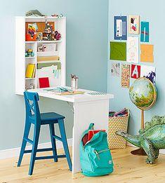Easy Kids' Room Decor: Murphy Desk (via Parents.com)
