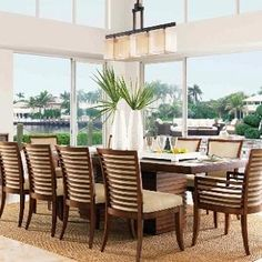 Tommy Bahama Ocean Club - this is our dining room set