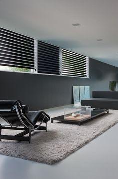 Copahome raamdecoratie duo rolgordijn zwart / La décoration de fenêtre. Stores enrouleurs duo, noir