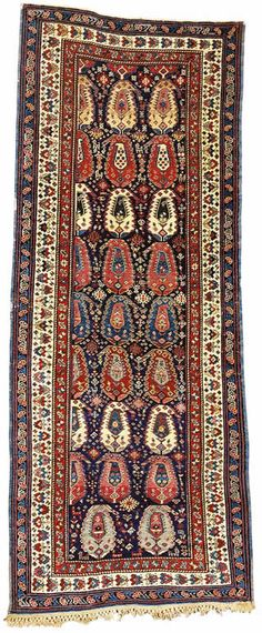 Caucasian Rugs Baku Rugs A Baku long rug 2nd half 19th century Baku long rug 2nd half 19th century