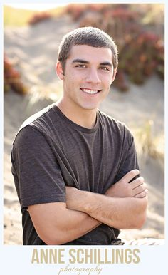 Senior Portrait by Anne Schillings Photography Boy Male High School Beach rock wall handsome sonoma county windsor santa rosa healdsburg petaluma teen photo ocean california dunes summer fall   https://www.facebook.com/anneschillingsphotography