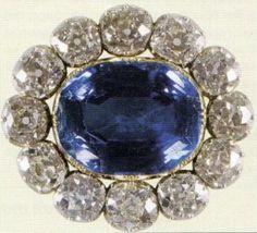 Венчальная брошь королевы Виктории. Англия, 1840 год.
