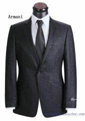 Costume à un bouton Armani Homme Noire Suit Jacket, Costumes, Suits, Jackets, Fashion, Black Man, Button, Down Jackets, Moda