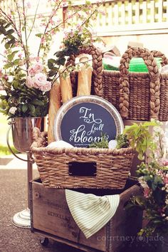 French Bistro Baby Shower! (It's a Girl)  Done by Double Take Event Styling - Lindsey Ter Har and Laura Grim