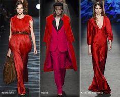 Pantone Fashion Color Aurora Red - Fall 2016 | bron: fashionisers.com
