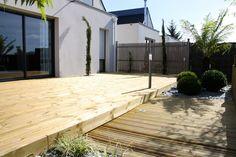 Terrasse bois terrasse pierre | Arbor Minéral Vannes Morbihan Images, Deck, Outdoor Decor, Home Decor, Gardens, Garden Landscaping, Landscape Planner, Search, Decoration Home
