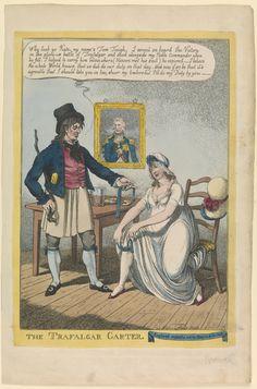 The Trafalgar Garter   ca. 1806
