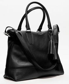 $400 COACH LEGACY LEATHER RORY SATCHEL - Legacy Collection - Handbags & Accessories - Macys