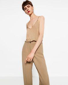 Image 1 de TOP DOUBLE EN V de Zara