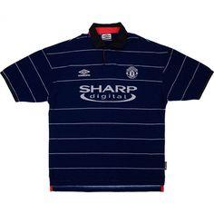 1999-00 Manchester United Away Shirt (Very Good) XL Vintage Football Shirts b6daada90
