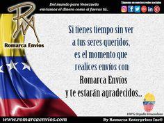 No dejes de realizar tus envíos con #RomarcaEnvios #EnvioDeDinero