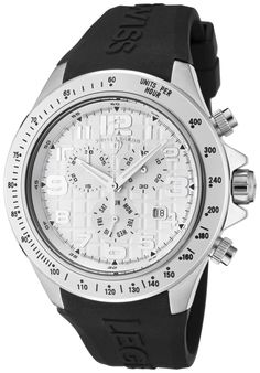 Price:$149.99 #watches SWISS LEGEND 30041-02S, Sporting an intricate design and subdial system, this bold Swiss Legend chronograph is precise on time and measurement.
