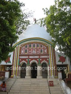 Nalhati, buried in her potency, is a small temple surrounded by a village. The main temple of Nalhati rests atop a small hill and within it,
