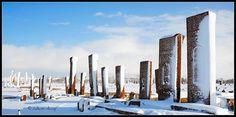 Tarihi Selçuklu Mezarlığı - Ahlat - Bitlis.  Fotoğraf: Özcan Olcay