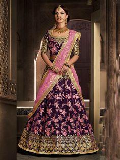 Online Shopping for Indian Dresses & Latest Bridal Wear - Lehenga Choli, Wedding Sarees, Salwar kameez, Sherwani, Ethnic & Modern Outfits and More. Buy Now! Lehanga Saree, Bridal Lehenga Choli, Indian Lehenga, Lahenga, Bollywood Lehenga, Sabyasachi, Sharara, Indian Wedding Outfits, Bridal Outfits