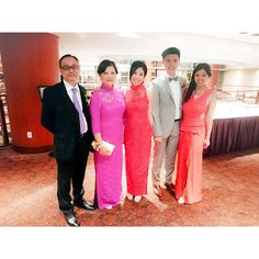 nice vancouver wedding 2015 06 20 | the cheong family just got bigger 🙌💍💐💒 #alexandanna #wedding #marriage #chinesedress #bigbrother #proudsister #family #party #dresses #tothenines #red #love #blessed #lucky #potd #raddison #vancity  #vancouverwedding #vancouverwedding