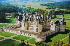 Appunti (disordinati) di Viaggio: Il Castello di Chambord (47°36′57.8″N - 1°31′02″E)...