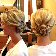 Gorgeous #bridal updo by Hair Professional Clair at #CharlesPenzone