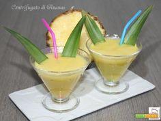 Centrifugato di Ananas #ricette #food #recipes