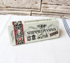 Vintage Schimmelpenninck Duet Tin Box Cigars Tin Box Collectible Old Metal Box Trinket Box Retro Home Decor Smokers Gift Jewelry Box by ANTIQUEcountry on Etsy