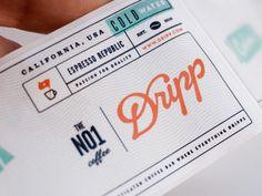 Dribbble - Water Label Close Up by Salih Kucukaga