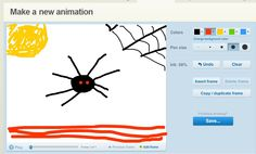 Make It Share It (www.makeitshareit.com) provides an easy way to create online drawings and animations.