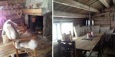 Vel bevart: Alle de gamle materialene er blitt godt tatt vare på i hytta som ligger i Sørenden av Stugusjøen.