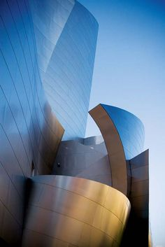 I really love the architectural design of the Walt Disney Concert Hall.