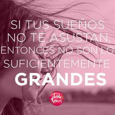 Sueña en grande... #sueños #grandes #éxito #meetas #superación