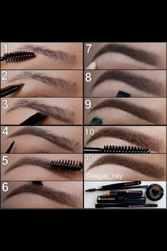 How to draw in ur eyebrows