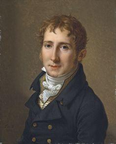 The Athenaeum - Portrait of Edward Fox Fitzgerald (François-Xavier Fabre - )