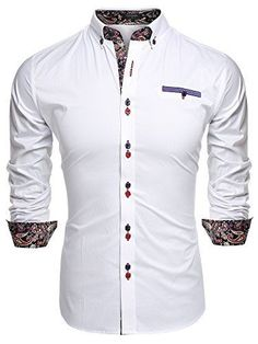 Coofandy Mens Fashion Slim Fit Dress Shirt Casual Exotic ... http://www.amazon.com/dp/B0188GTXLO/ref=cm_sw_r_pi_dp_R8gixb16HCVQS