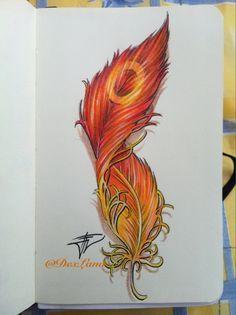drawing,painting,phoenix feder,schrift - Google-Suche