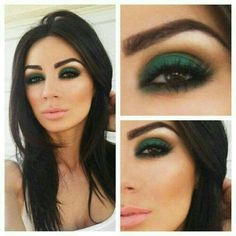 Check out this Gorgeously stunning St Patricks day makeup look#Beauty#Trusper#Tip