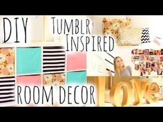 DIY Room Decor & Organization Inspired by Tumblr ! | Girls Only