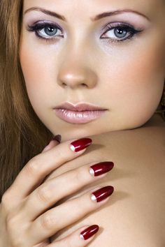 Amazing Red Nails  | See more nail designs at http://www.nailsss.com/nail-styles-2014/