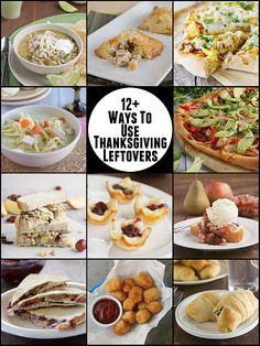 12 Ways to Use Thanksgiving Leftovers on www.tasteandtellblog.com