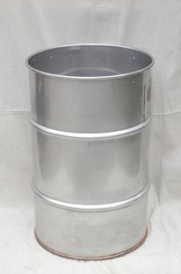 30-gallon stainless steel drum for homebrew